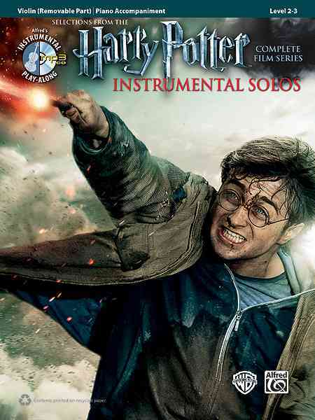 Harry Potter Instrumental Solos for Strings By Alfred Publishing (COR)